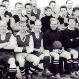 1958_Or_1959_Football_Staff_And_Students